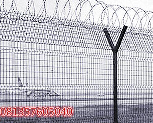 Jual Pagar Wiremesh Tinggi 200 cm untuk Bandara Udara